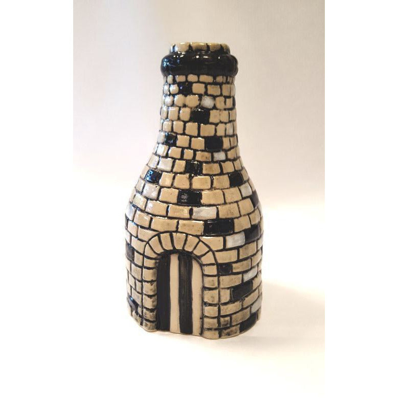 Hand Painted Bottle Kiln Figure by Burslem Pottery | Ceramics by Pottery - Handpainted | Barewall Art Gallery