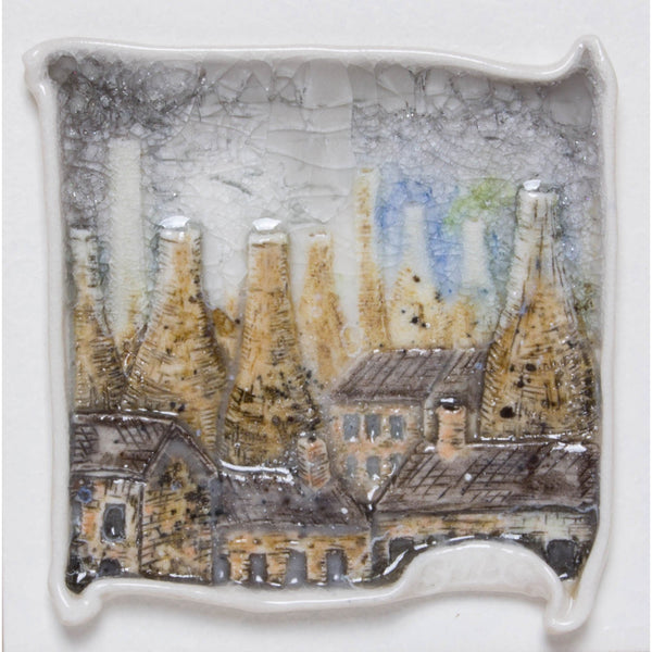 Brick Scape No.1 by Shauna McCann | Ceramics by Shauna McCann | Barewall Art Gallery