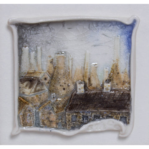 Brick Scape No.4 by Shauna McCann | Ceramics by Shauna McCann | Barewall Art Gallery