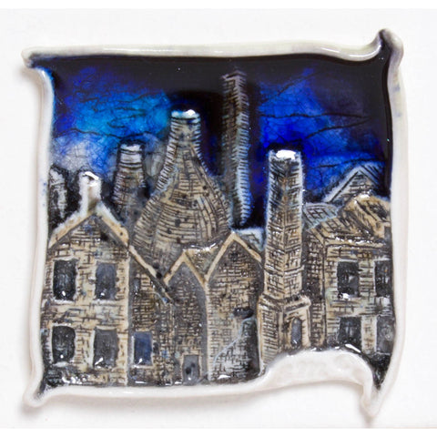 Brick Scape No.5 by Shauna McCann | Ceramics by Shauna McCann | Barewall Art Gallery
