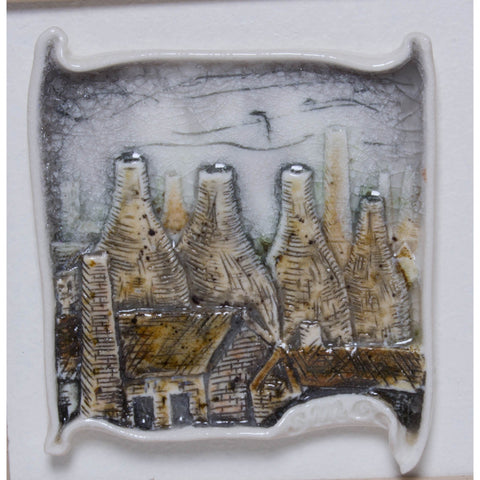 Brick Scape No.6 by Shauna McCann | Ceramics by Shauna McCann | Barewall Art Gallery