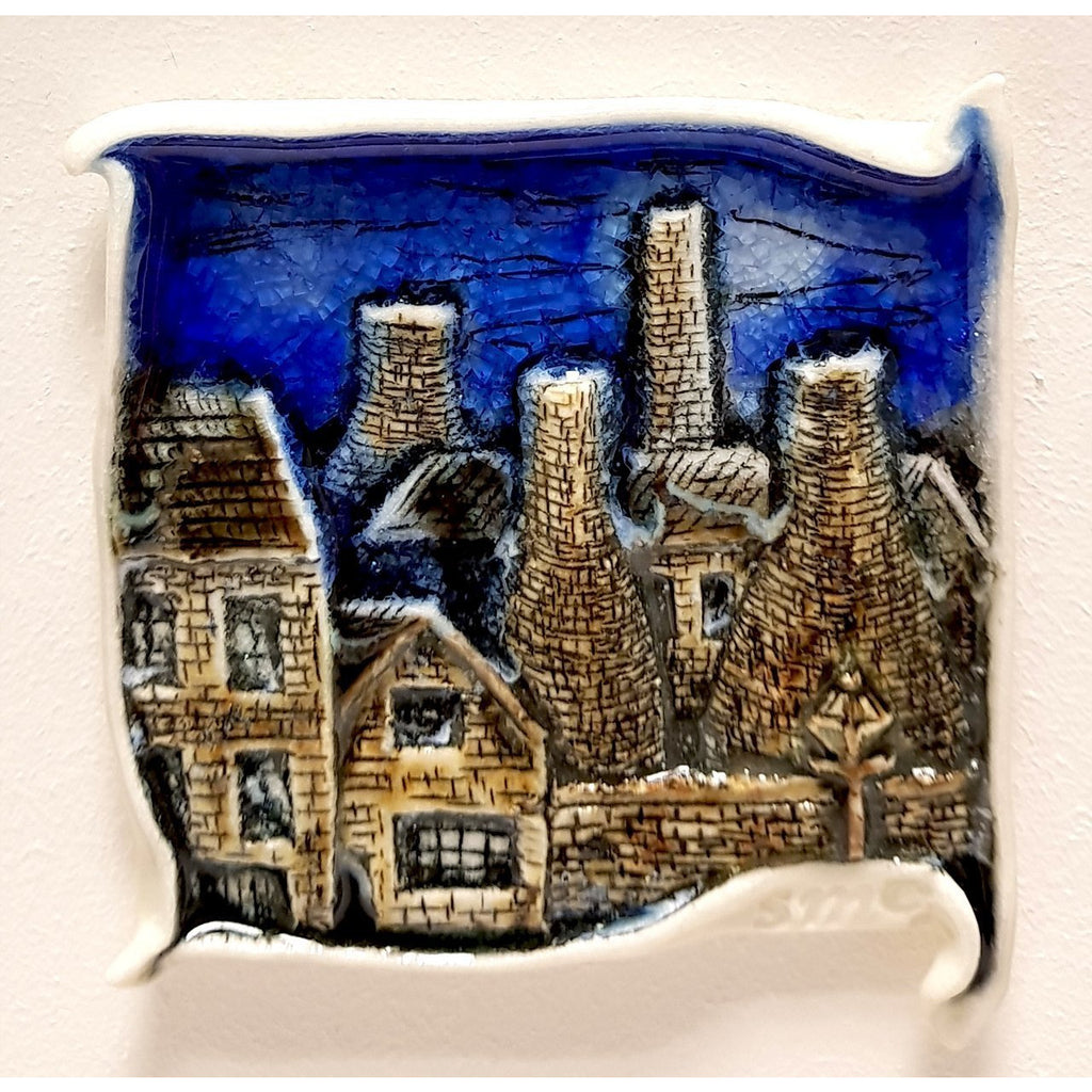 Brick Scape No.7 by Shauna McCann | Ceramics by Shauna McCann | Barewall Art Gallery