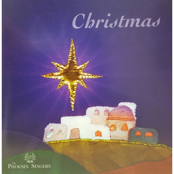 Christmas CD by Ashley Thompson and Phoenix Singers | Gift by Staffordshire Gifts | Barewall Art Gallery