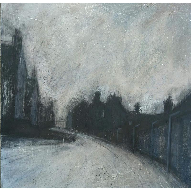 Stephen Liddle Original Art SL13. Walking the Back Streets, Hanley by Stephen Liddle