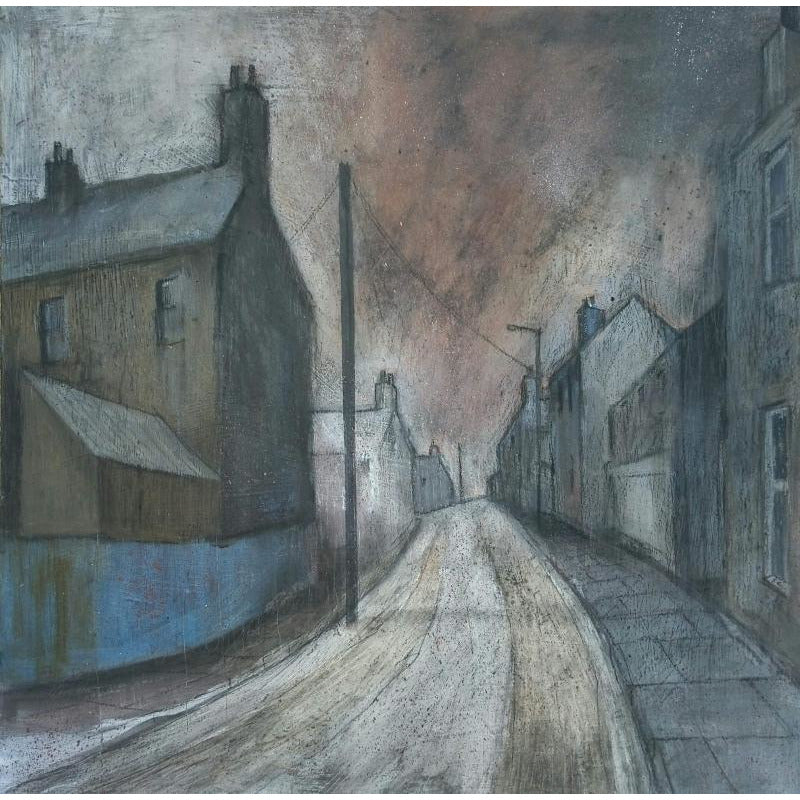 Stephen Liddle Original Art SL17. Leaving Chesterton by Stephen Liddle