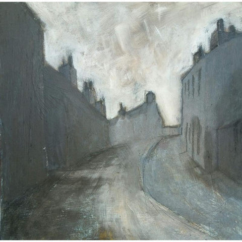 Stephen Liddle Original Art SL19. Approaching Summerbank, Tunstall by Stephen Liddle