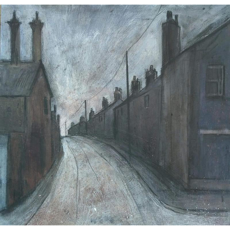 Stephen Liddle Original Art SL23. Morning Horizon, Tunstall by Stephen Liddle