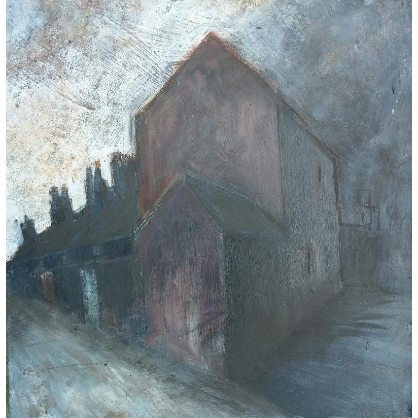 Stephen Liddle Original Art SL24. Afternoon Storm, Burslem by Stephen Liddle