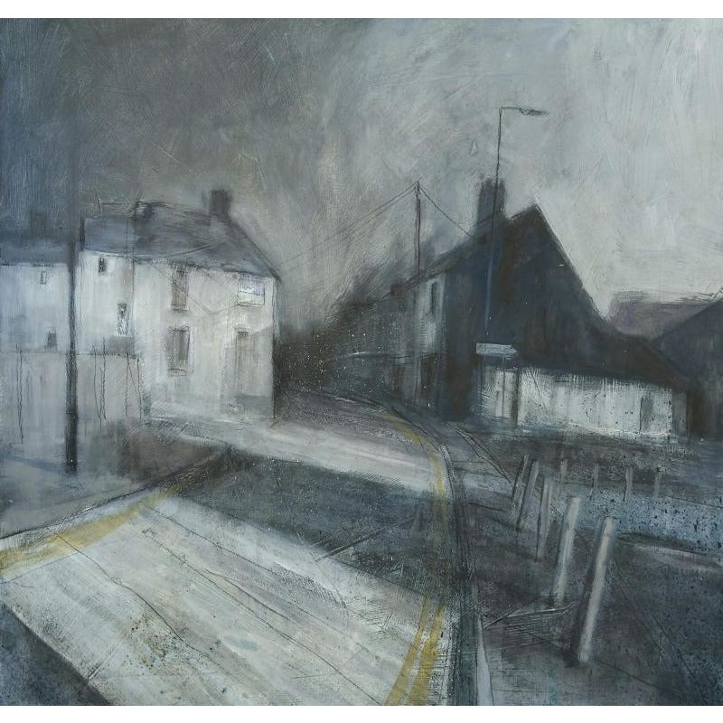 Stephen Liddle Original Art SL25. Morning Stroll Through Tunstall by Stephen Liddle