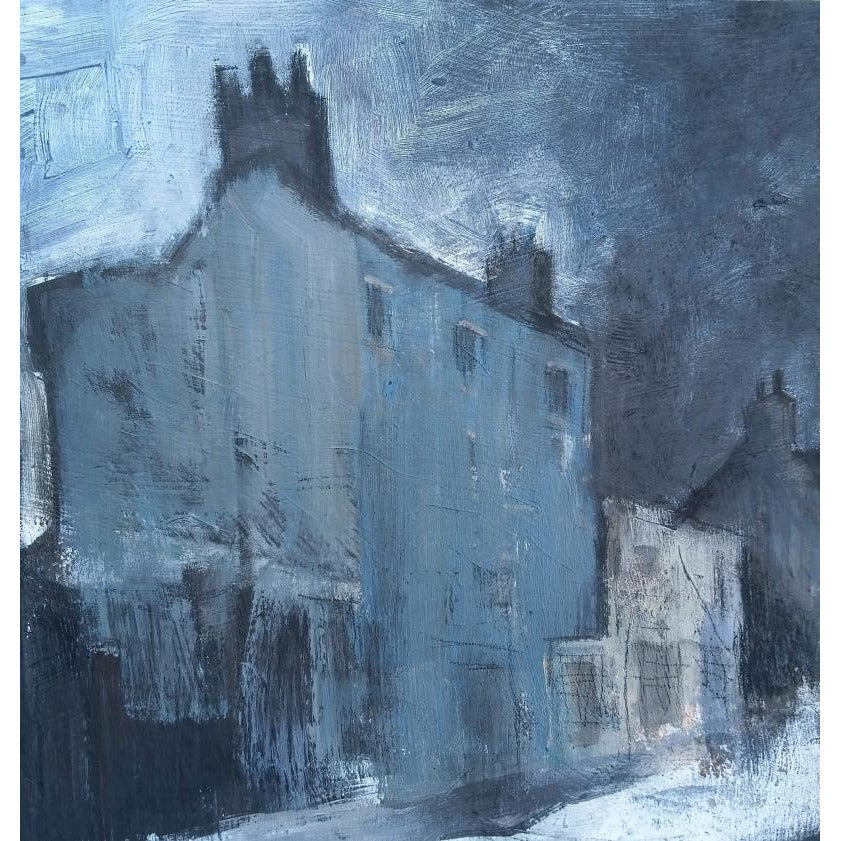 Stephen Liddle Original Art SL26. The Blue House, Burslem by Stephen Liddle