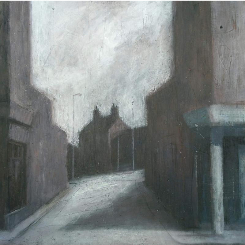 Stephen Liddle Original Art SL3. Midday Shadows, Stoke-upon-Trent by Stephen Liddle
