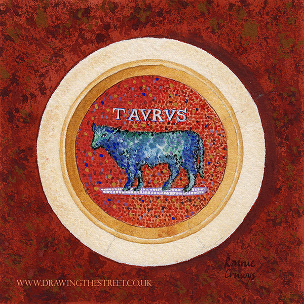 Taurus The Bull by Ronnie Cruwys