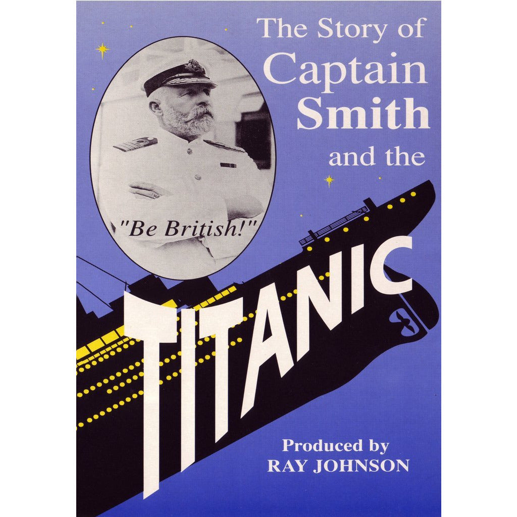 Captain Smith and the Titanic Historical Film DVD