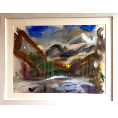 Tony Wild Original Art TW1 Ullswater by Tony Wild