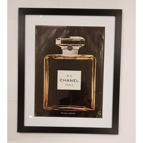 Vintage Vogue Pages Photography Original Vintage Vogue Magazine Advertisement for Chanel No.5 Perfume 15 March 1979 Framed from UK Vintage Vogue Pages