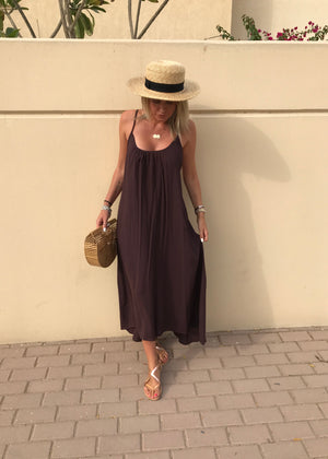 Tulumn Dress (Brown)