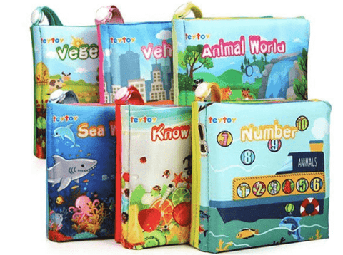 Crinkle Toy Books