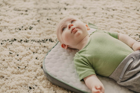 How to calm wriggly baby