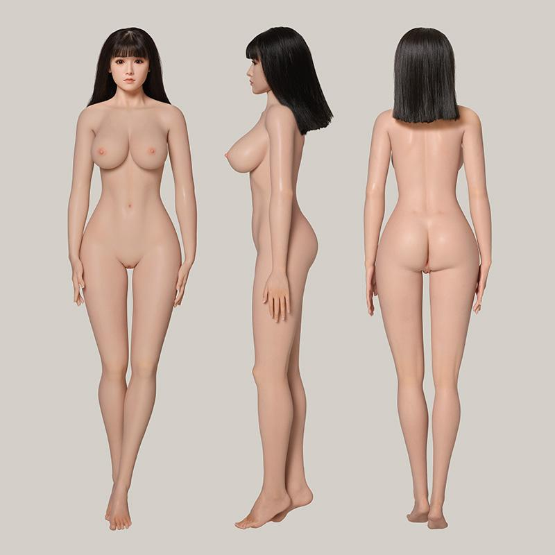 The Side View Of CST Doll Silicone Real Dolls
