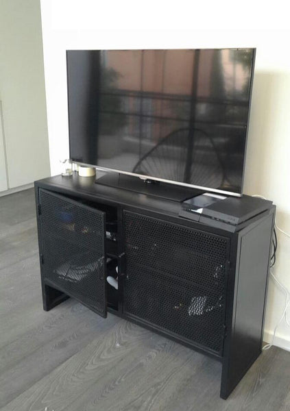 PIERCED METAL MEDIA UNIT