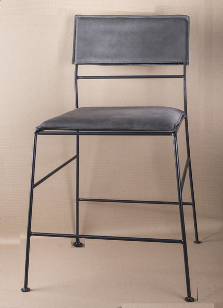 LUCY -METAL UPHOLSTERED DINING CHAIR