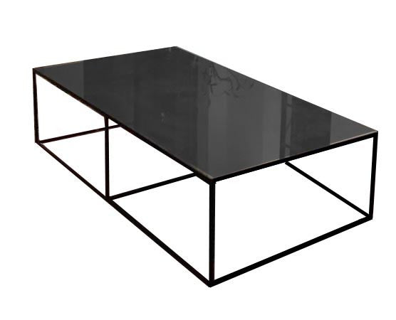 QUINCY - BARE METAL COFFEE TABLE