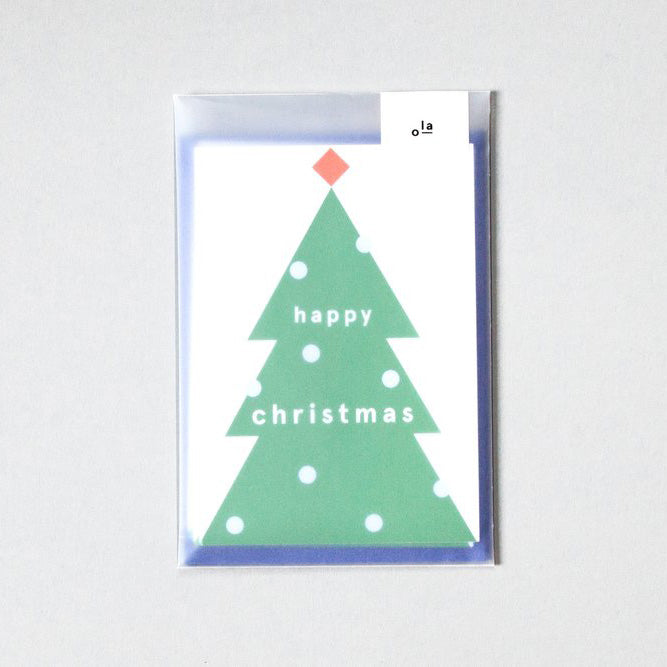 Ola Jr Christmas Tree Christmas Card Set
