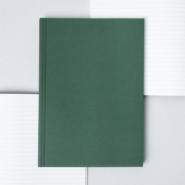 Ola A5 Ruled Pages Layflat Notebook | Green