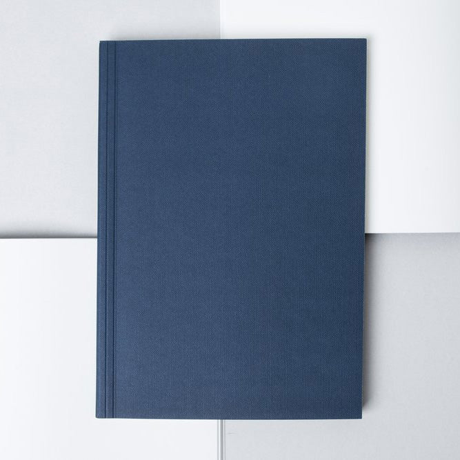 Ola A5 Layflat Notebook | Navy Blue