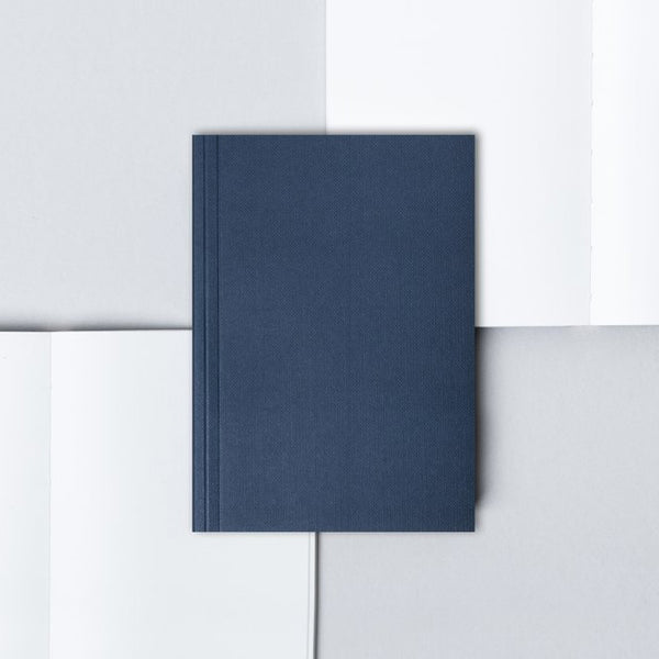 Ola A6 Pocket Layflat Notebook | Navy