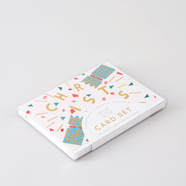 Christmas Cracker Boxed Card Set