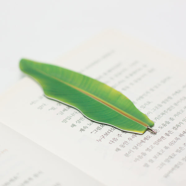 Appree Banana Leaf Bookmark Pen