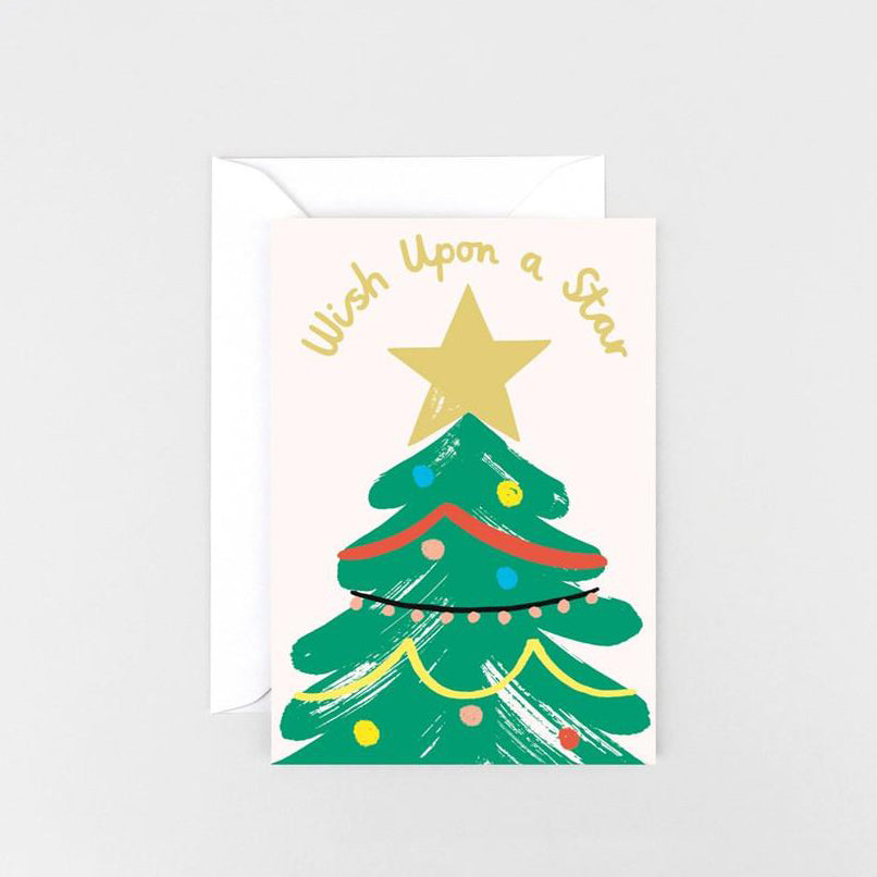 Wish Upon a Star Christmas Greetings Card
