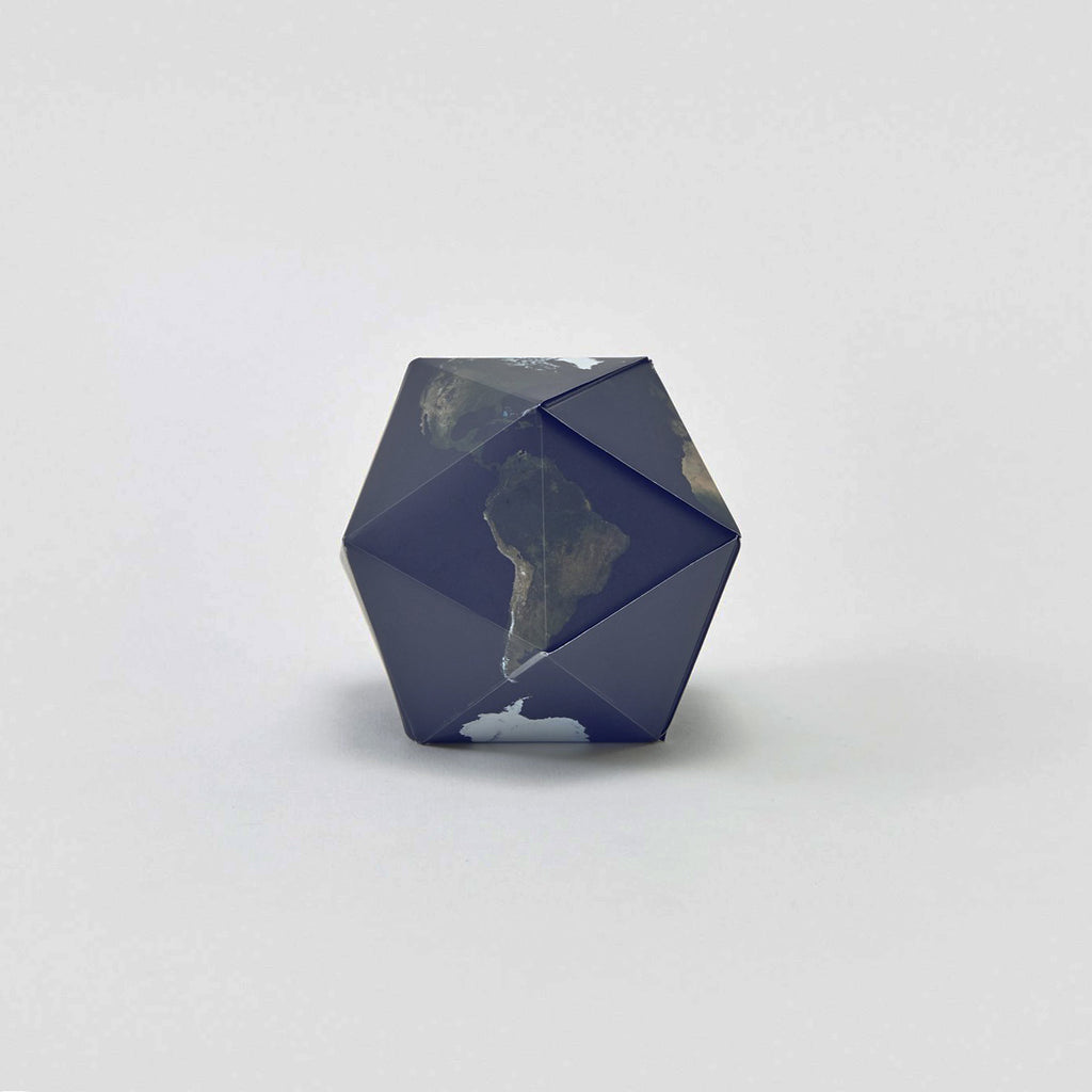 Dymaxion Magnetic Folding Globe