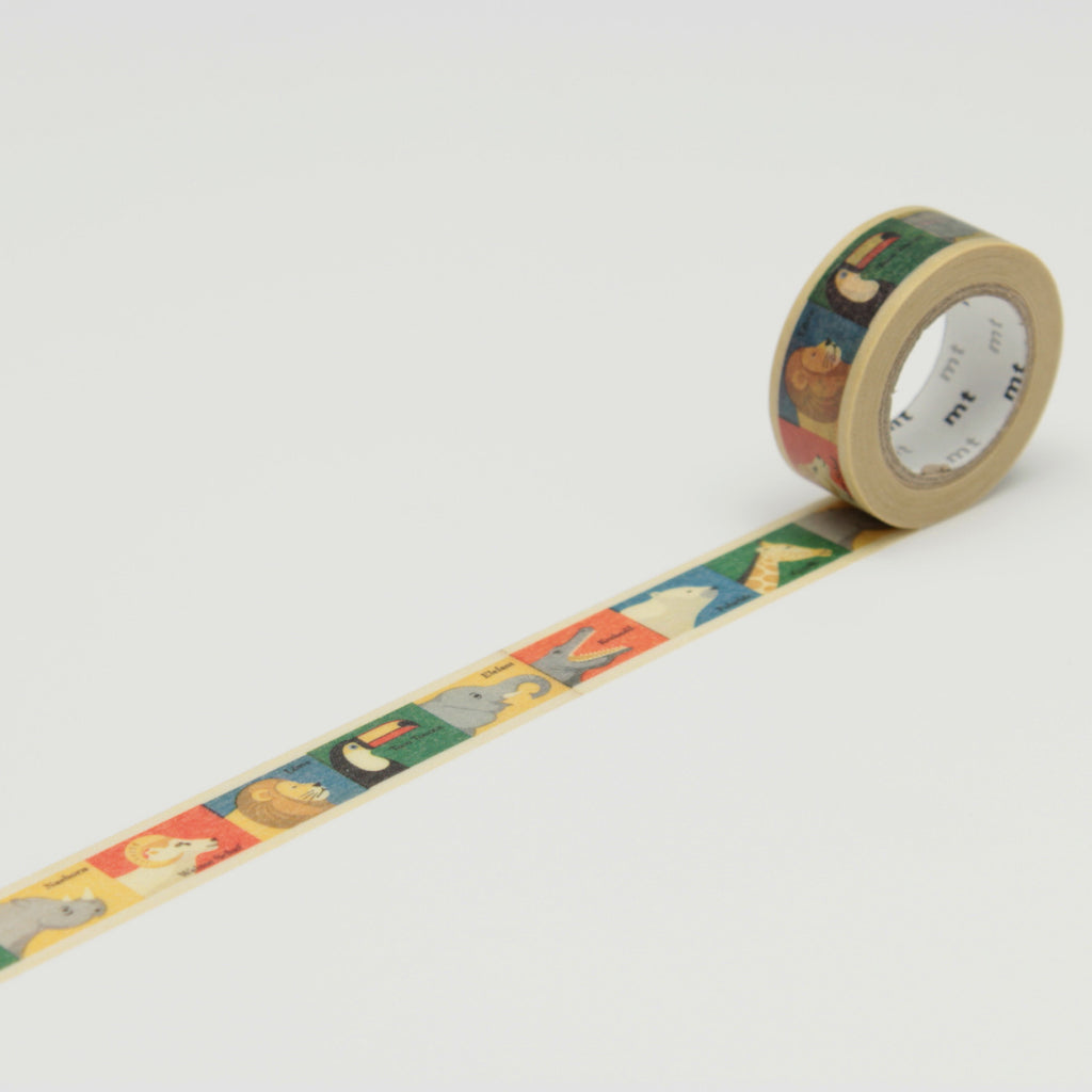 Animal Kids Washi Tape