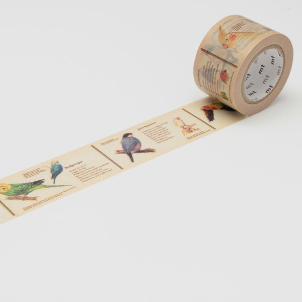 Encyclopedia Bird MT Washi Tape