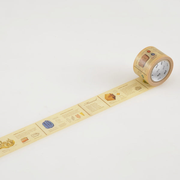 Encyclopedia Minerals MT Washi Tape