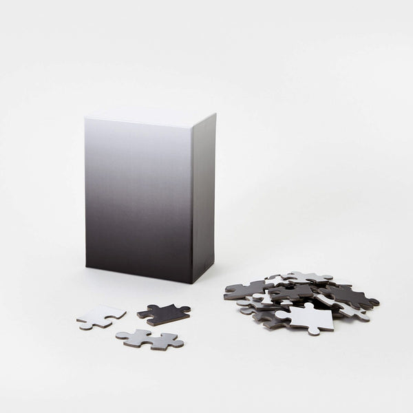 Small Gradient Puzzle Black/White