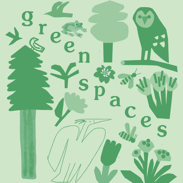 Green Spaces Print