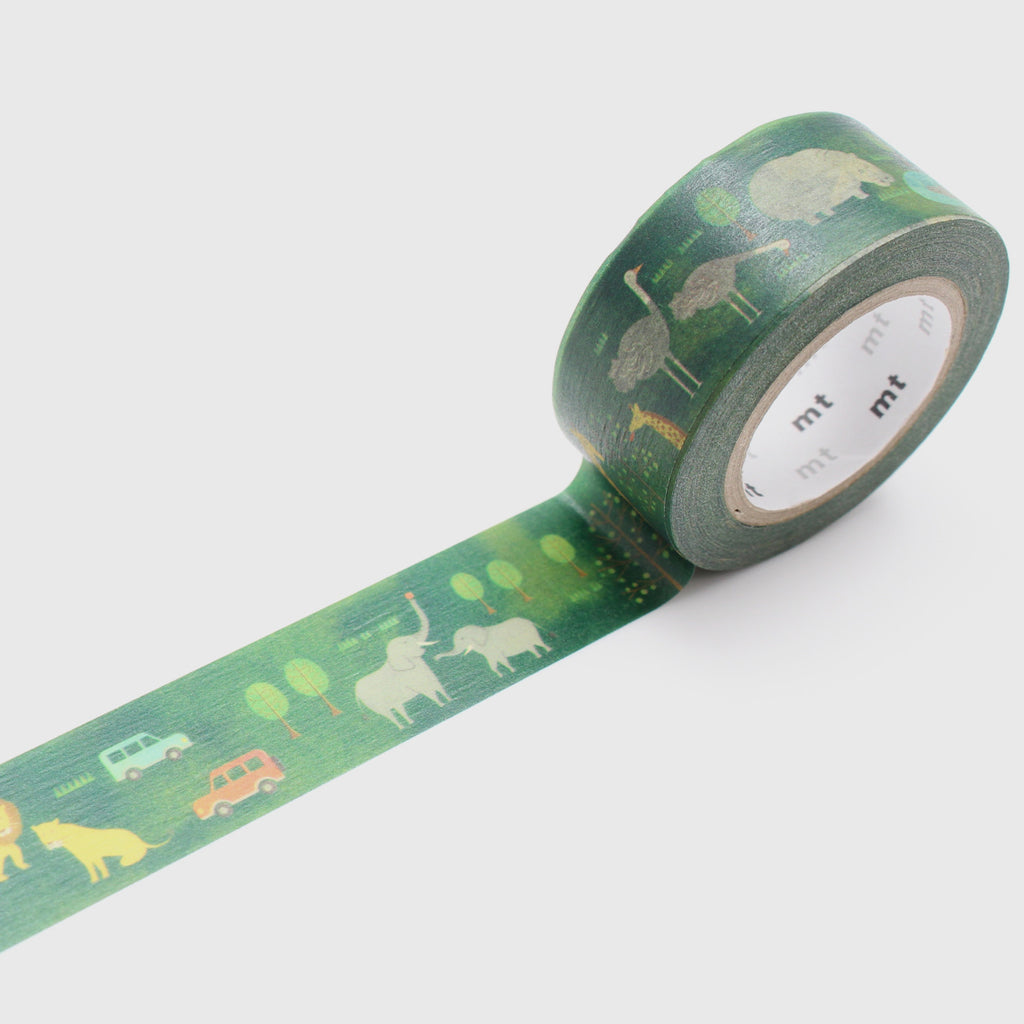 Safari Park MT Washi Tape