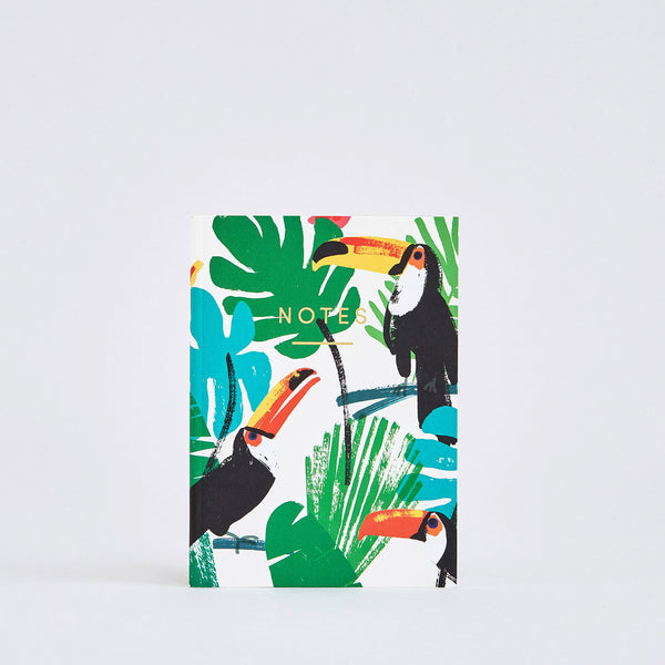 Toucans Small Notebook