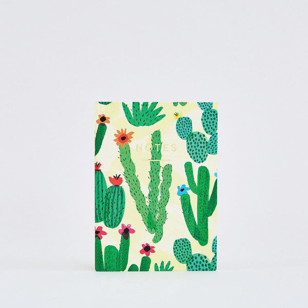 Cactus Field Mini Notebook