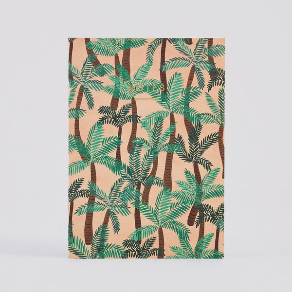 Palm Trees Large Notebook