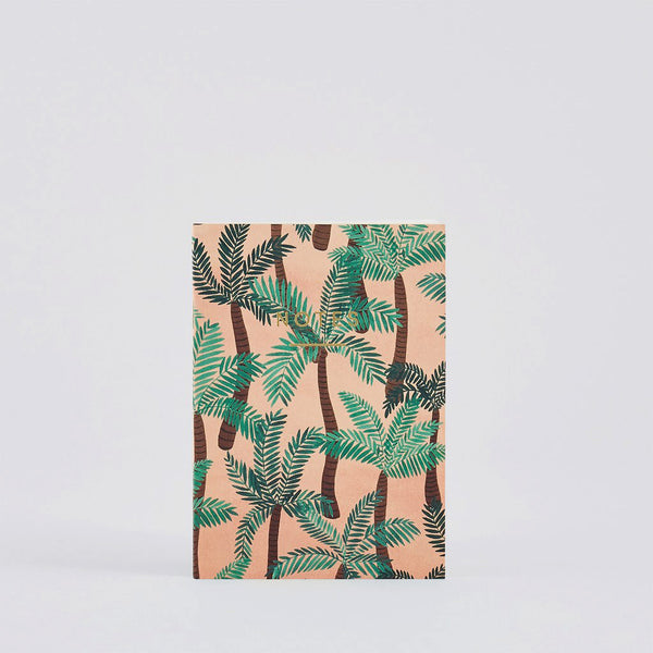 Palm Trees Small Notebook