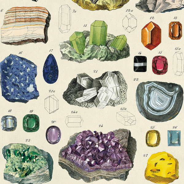 Mineralogie Wrapping Paper (Click-and-Collect only)