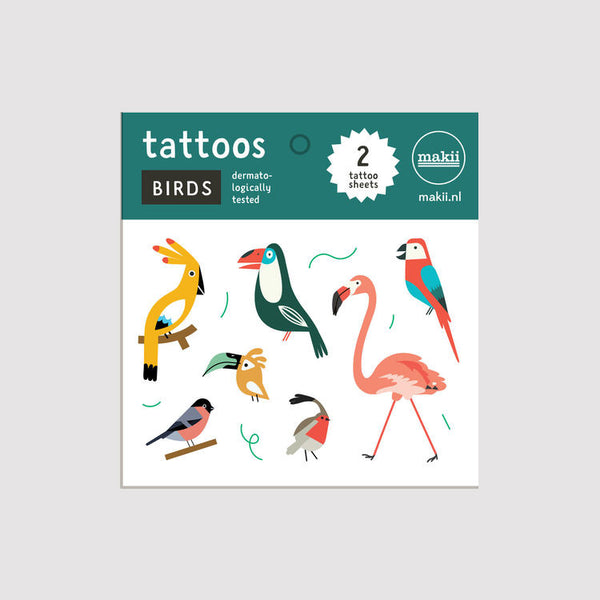 Tattoo Set 'Birds'