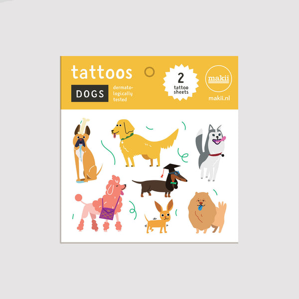 Tattoo Set Dogs