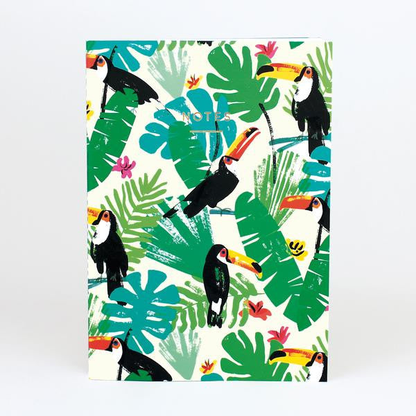 Toucans Large Notebook