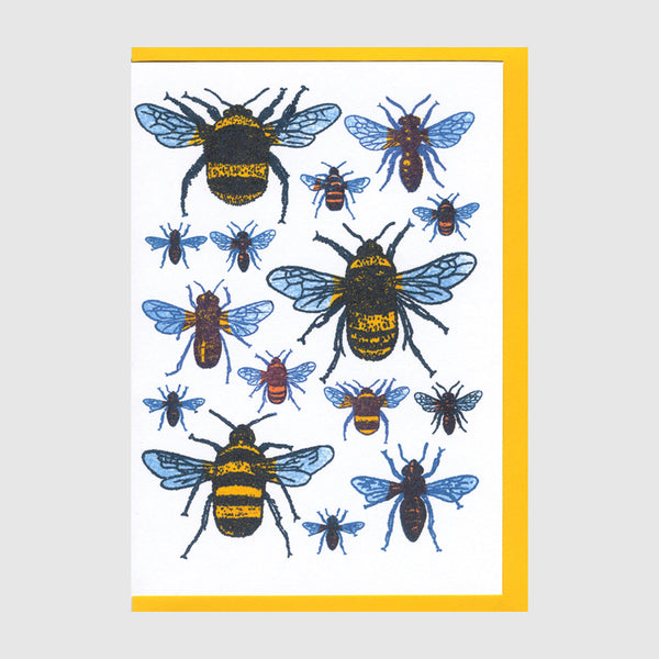 Bees Greetings Card