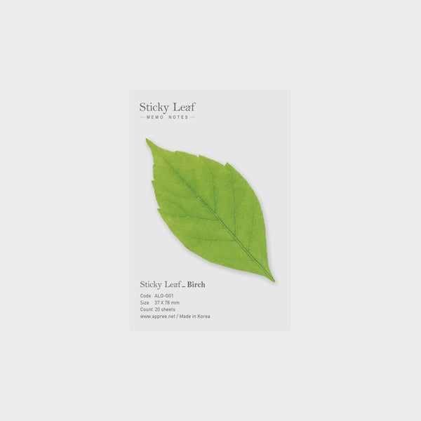 Appree Birch Sticky Leaf